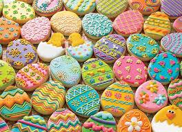 Easter Cookies Family Puzzle