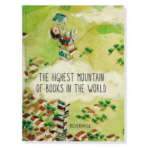 The Highest Mountain of Books in the World - by Rocio Bonvilla
