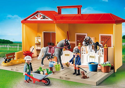 Country ~ Take Along Horse Stable