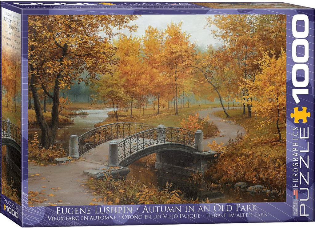 Autumn in an Old Park 1000pc @ https://www.jestersfunfactory.net/