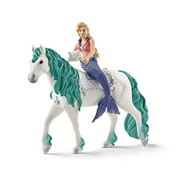 Gabriella Mermaid on Horse