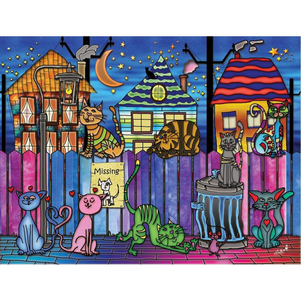 Backstreet Cats 1000 pcs