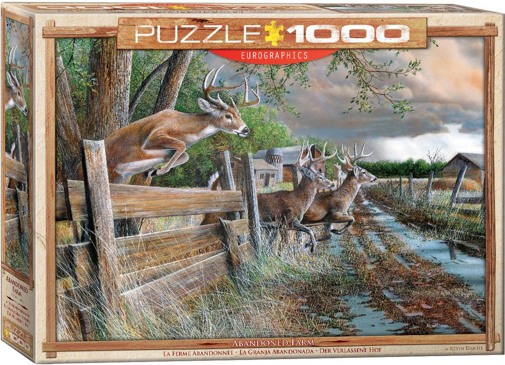 Abandoned Farm 1000pc @ https://www.jestersfunfactory.net/