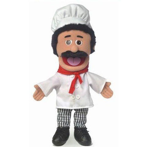 "Silly Puppets 14"" Chef Luigi"