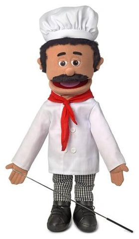 "Silly Puppets 25"" Chef Luigi"