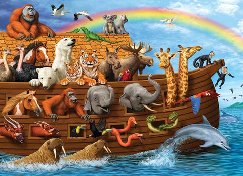 Voyage of the Ark 350pc Family Puzzle