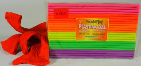 Modeling Clay Non Drying Neon Mix