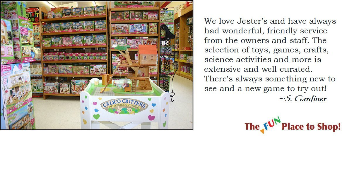 Jester's Fun Factory Toys & Games!
