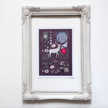 Load image into Gallery viewer, Stag moon print