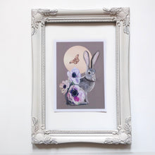 Load image into Gallery viewer, Hare moon print