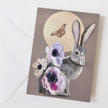 Load image into Gallery viewer, Hare with anenomes