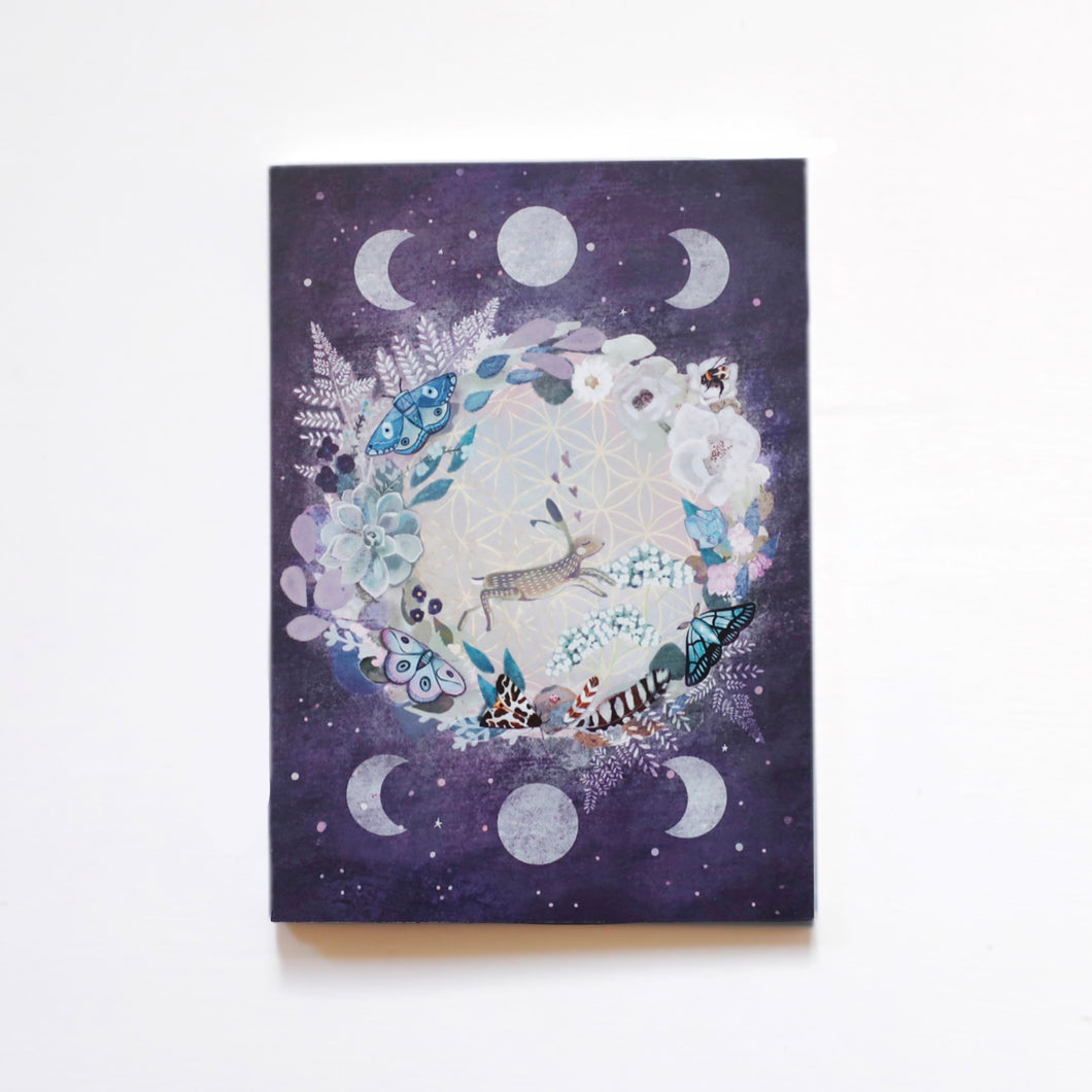 Moon and hare notebook
