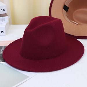 Two Faced Fedora Hat