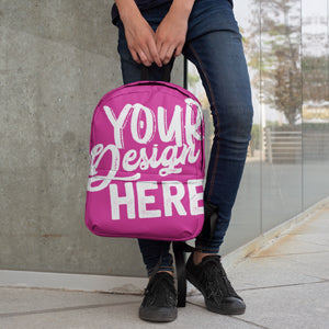 Create Your All-Over Print Backpack