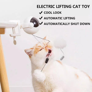 50% OFF Automatic Lifting Cat Ball Toy