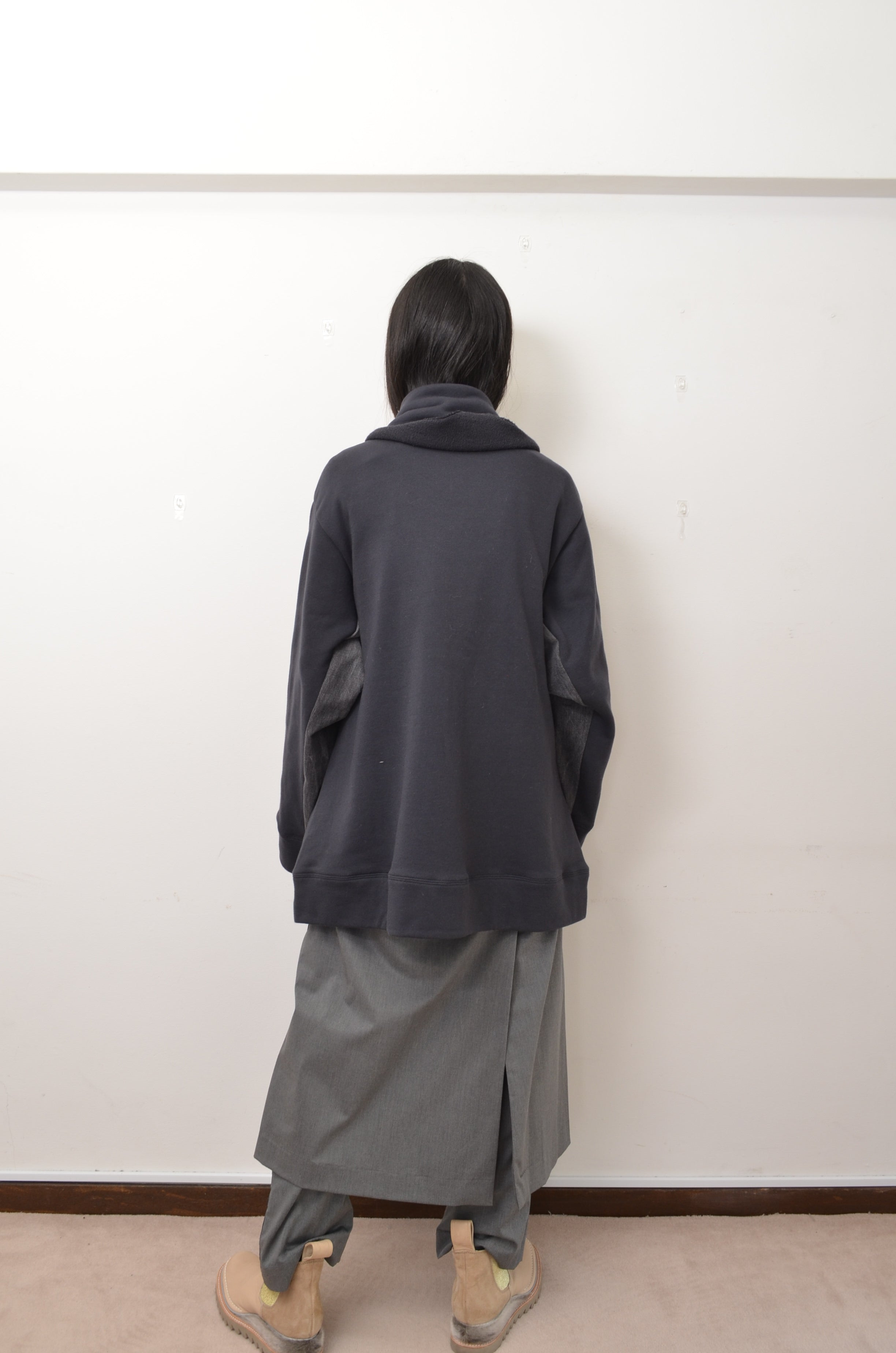 △ SHAWL ZIP-UP PARKA/CHAC