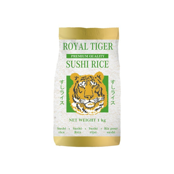 Sushi Rice (1kg) - Royal Tiger