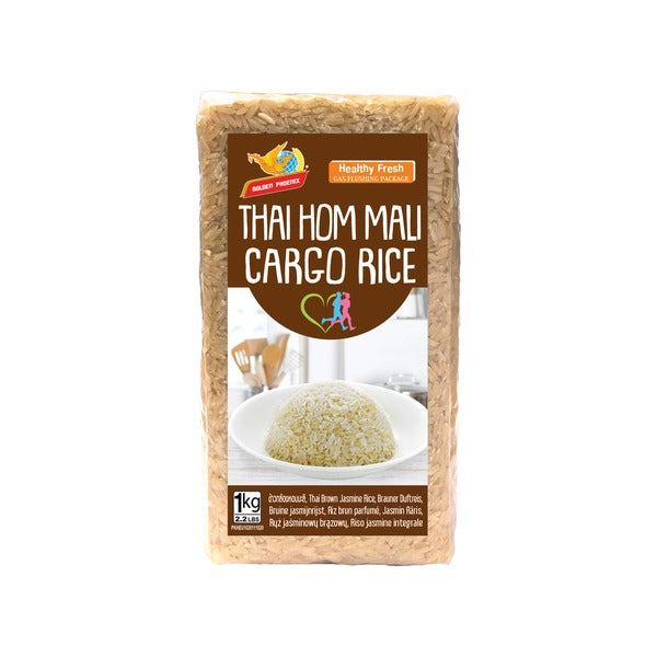 Brown Jasmine Rice (1kg) - Golden Phoenix
