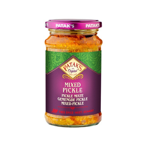 Mixed Pickle Super Hot (283g) - Patak's