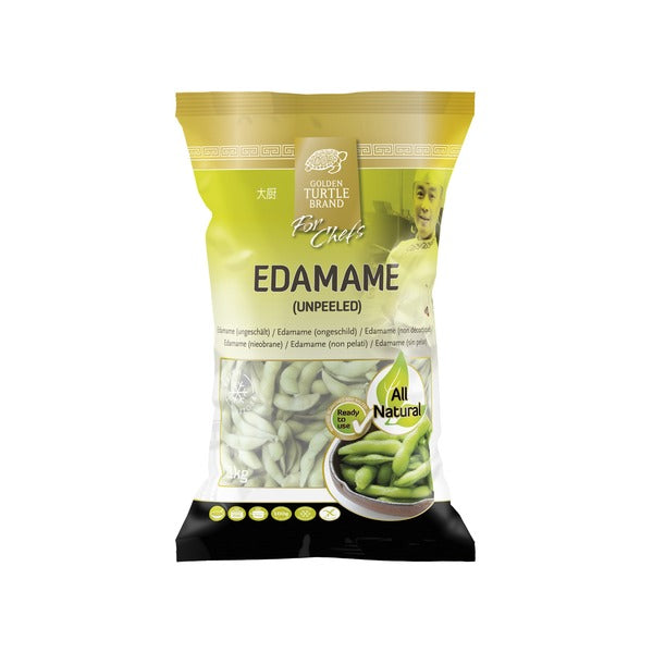 Edamame / Soybeans (Unpeeled) (1 kg) - Golden Turtle