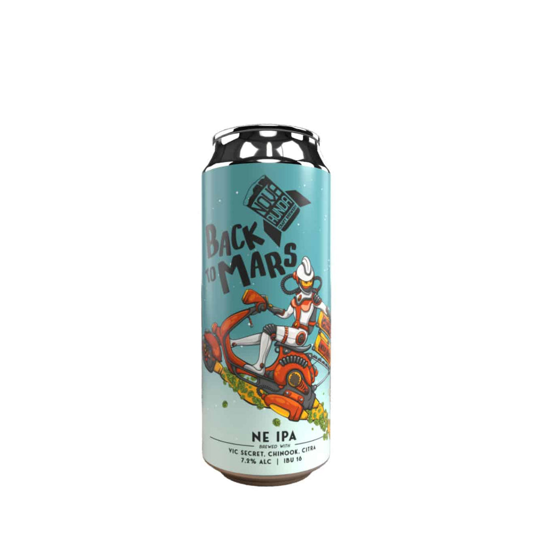 Back to Mars NE IPA (500ml) - Nova Runda