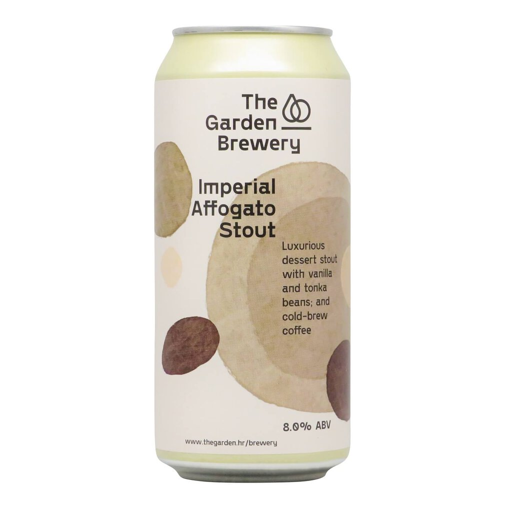 Imperial Affogato Stout (500ml) - The Garden Brewery
