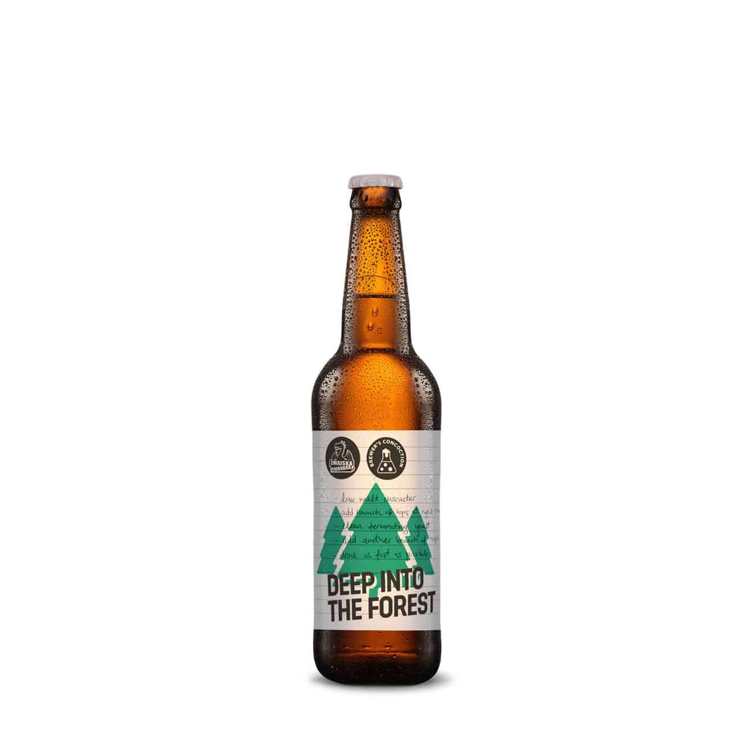 Deep into the Forest West Coast IPA (330ml) - Zmajska Pivovara