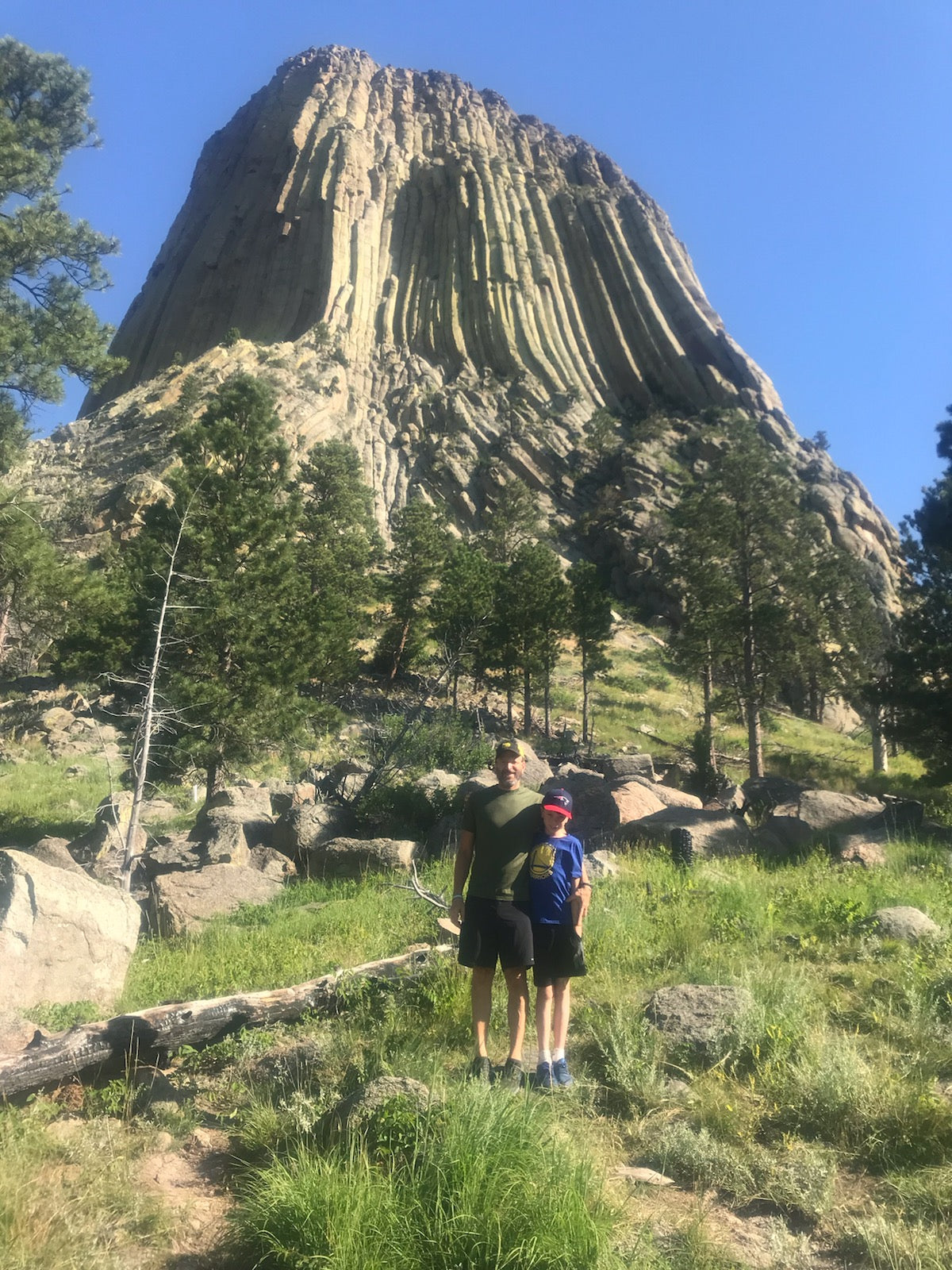 Will at Devils Tower