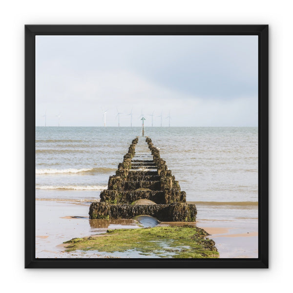 Clacton-on-Sea, Essex, UK - Framed Canvas - Manuel Sechi Photography