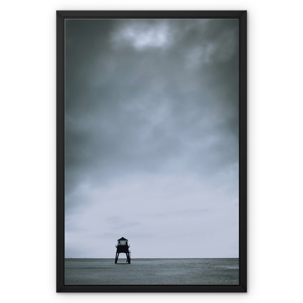 Dovercourt, Harwich, Essex, Uk - Framed Canvas