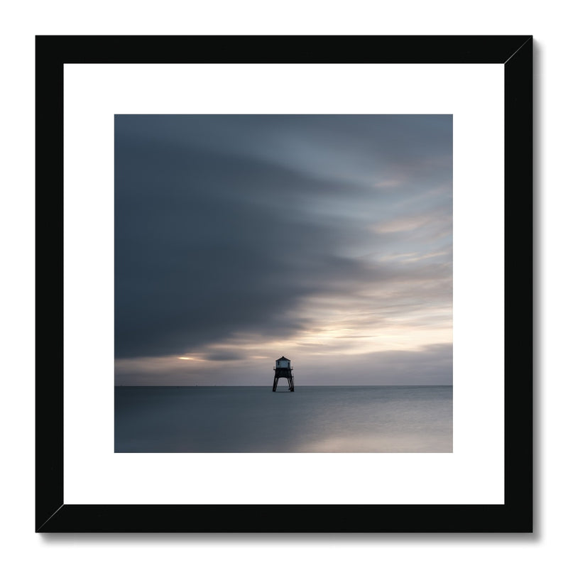 Dovercourt Lighthouse, Harwich, Essex, Uk - Framed & Mounted Print - Manuel Sechi Photography