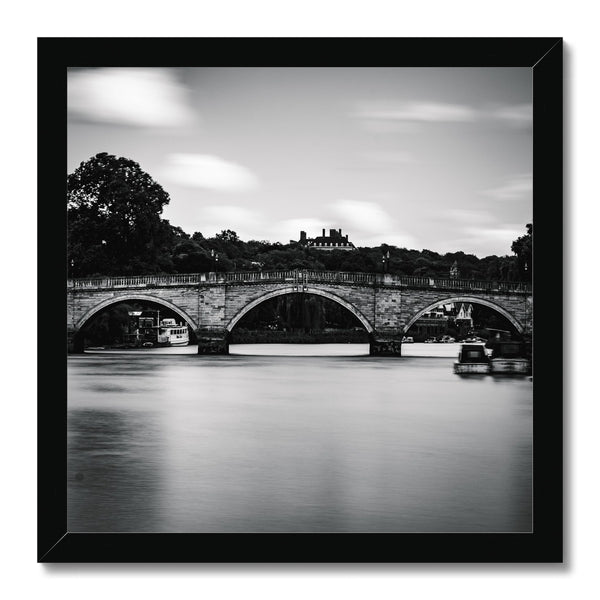 Richmond Bridge, Richmond, London, UK Framed Print - Manuel Sechi Fine Art Photography