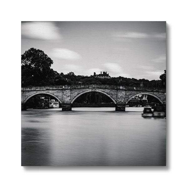 Richmond Bridge, Richmond, London, UK Canvas - Manuel Sechi Fine Art Photography