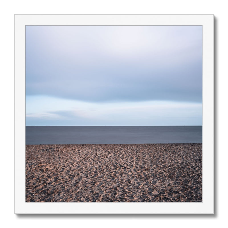 Languard Fort, Felixstowe, Suffolk Framed Print - Manuel Sechi Fine Art Photography
