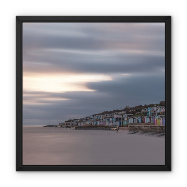 Walton-on-the-Naze, Essex, UK Framed Canvas - Manuel Sechi Fine Art Photography