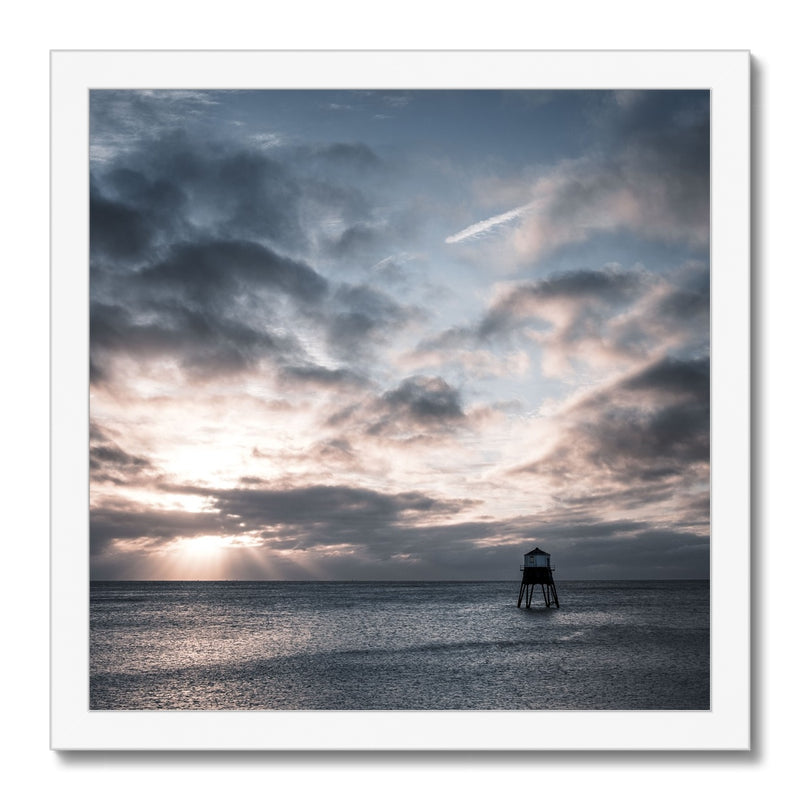 Dovercourt Lighthouse, Harwich, Essex, Uk - Framed Print - Manuel Sechi Photography