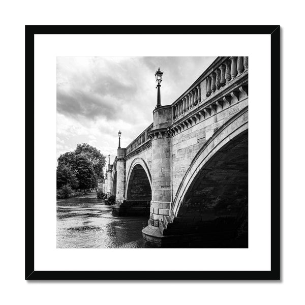Richmond Bridge, London, UK - Framed & Mounted Print