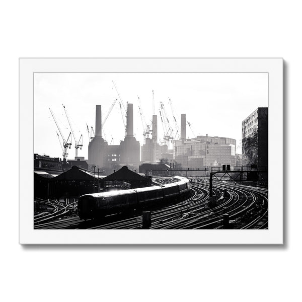 Ebury Bridge, London, UK - Framed Print