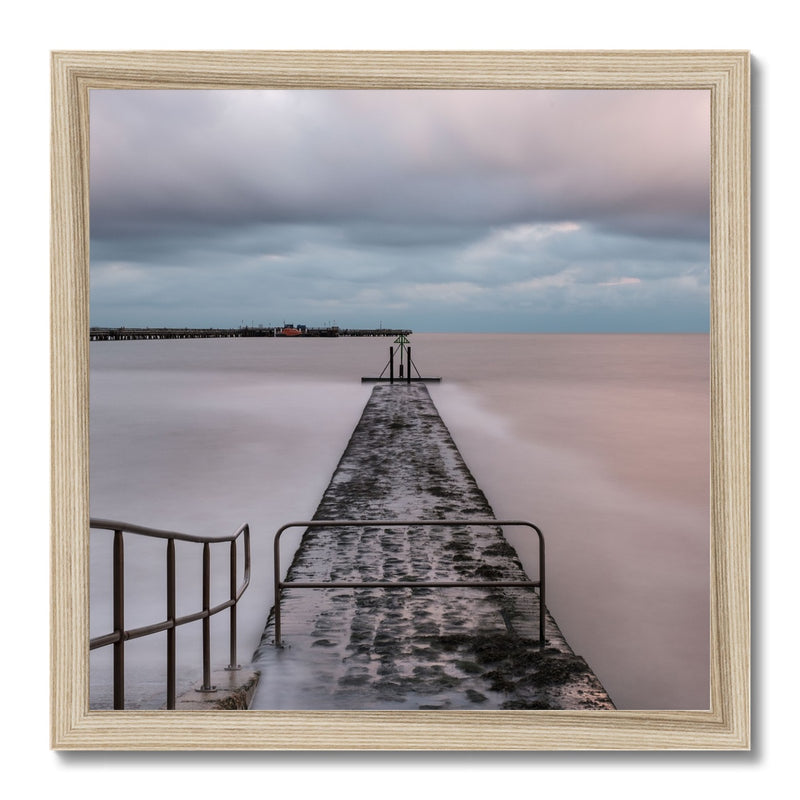 Walton-on-the-Naze, Essex, UK Framed Print - Manuel Sechi Fine Art Photography