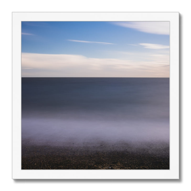 Cobbolds Point, Felixstowe, Suffolk, UK Framed Print - Manuel Sechi Fine Art Photography