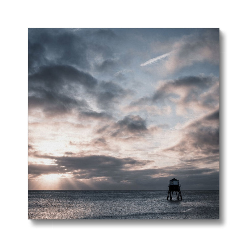 Dovercourt Lighthouse, Harwich, Essex, Uk - Canvas - Manuel Sechi Photography