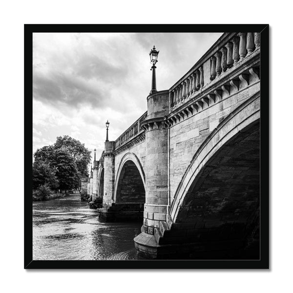 Richmond Bridge, London, UK - Framed Print