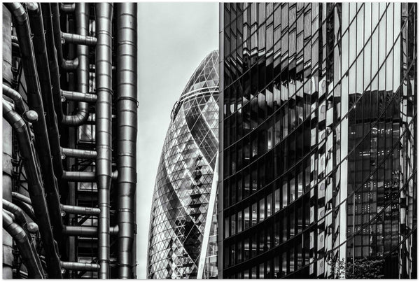 The Gherkin, London, UK - Classic Semi-Glossy Paper Poster