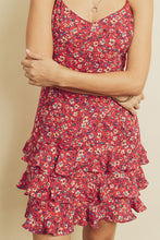 Load image into Gallery viewer, Triple Floral Dress