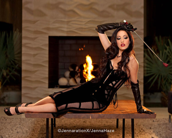 "Limited Edition Autographed 8""x10""~ 'The Dominatrix' #1"