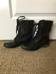 Black Steve Madden Boots from Multiple Photoshoots