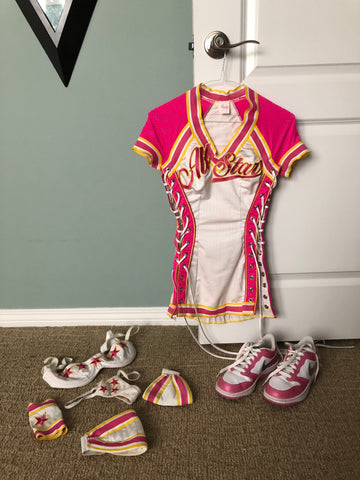 """Sporty Girl"" Feature Dancing Costume w/Sneakers"