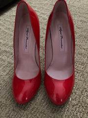 Red Agent Provocateur Pumps from Just Jenna