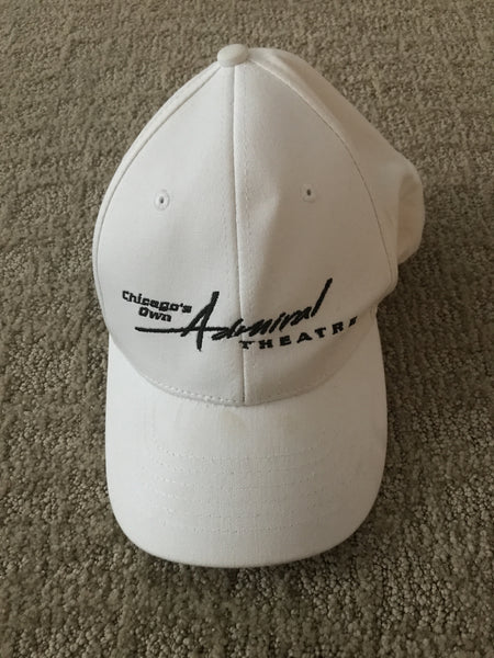 White Baseball Cap from Chicago's Admiral Theater