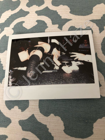 "LAST DANCE """"Outtake"" One-of-a-Kind Instax Photo (w/autograph) #6"